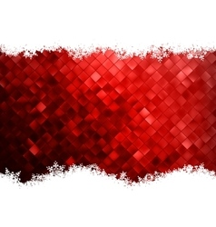 Christmas background design EPS 10 vector image vector image