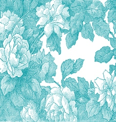 29 Abstract hand-drawn floral pattern rose vector
