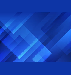 abstract blue geometric shape overlay layer vector image