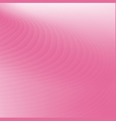 abstract pink color curved lines pattern vector image