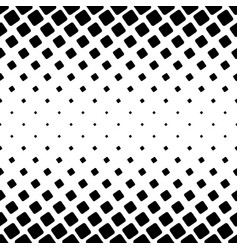 Black and white square pattern - geometric vector