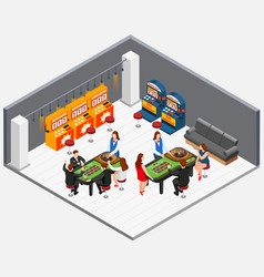 Game machine concept vector