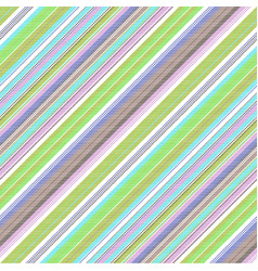 green abstract striped mulicolor seamless pattern vector image