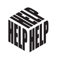 Help simple text slogan t shirt graphic phrases vector