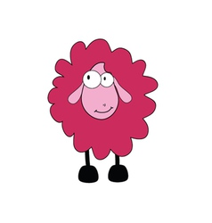 sheep cartoon part two vector image