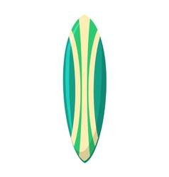 Surfing board vector
