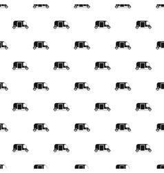 Tuk tuk taxi pattern simple style vector