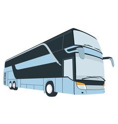 Cartoon of london bus vector