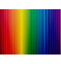 color rainbow stripes background with shadow vector image