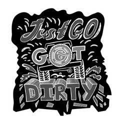 Off road hand drawn-05 vector