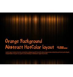 Orange Template vector image
