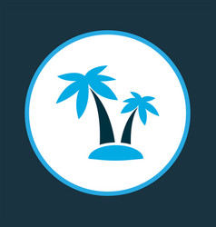 Palms icon colored symbol premium quality vector