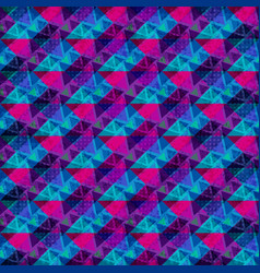 purple and blue polygons bright abstract vector image