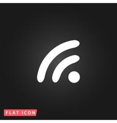 Wifi icon zone vector