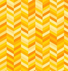 Zig zag background in shades yellow and orange vector