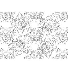 Flower Hand drawn sketch tutsan hypericum vector image