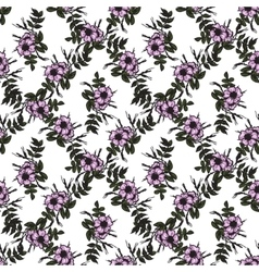 seamless pattern in vintage style with rosa vector image vector image
