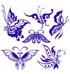 butterfly illustration vector image