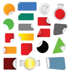 sticker color vector image vector image