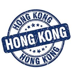 Hong kong stamp vector