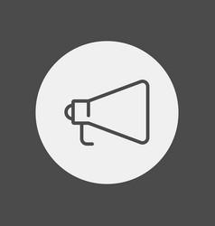 megaphone icon sign symbol vector image