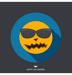 modern halloween background vector image