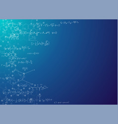 science background with formulas vector image