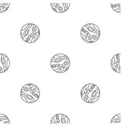 venus planet pattern seamless vector image