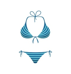 Women girl swim suit vector