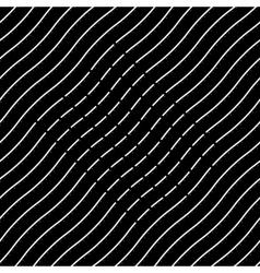 Seamless pattern Diagonal lines vector image vector image