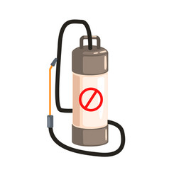 pump pressure sprayer colorful cartoon vector image vector image