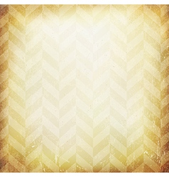 Vintage chevron pattern old paper background vector image vector image