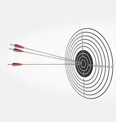 Arrows on target vector