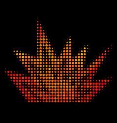 bright dot explosion boom icon vector image
