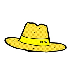 Comic cartoon hat vector