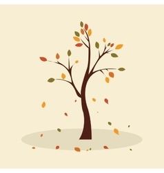 Cute tree vector