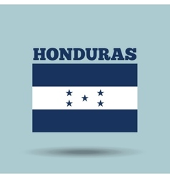 honduras country flag vector image