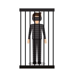 Isolated guilty design vector image