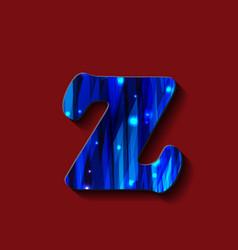 Letter z digit 2 logo icon design template vector