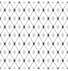 seamless geometric hipster pattern monochrome vector image