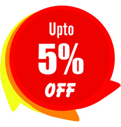 Up to 5 percentage off graphics vector