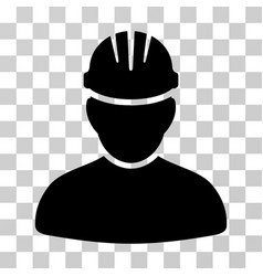 worker person icon vector image