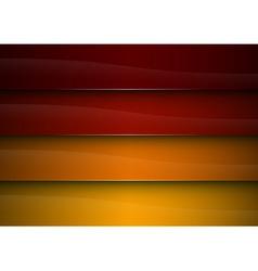 background red orange stripe vector image vector image
