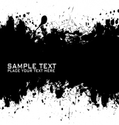 text ink vector image vector image