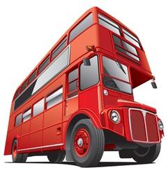 London double dacker bus vector image