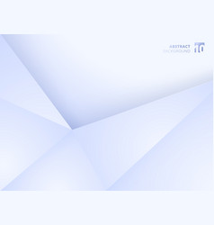 Abstract template geometric triangles white and vector