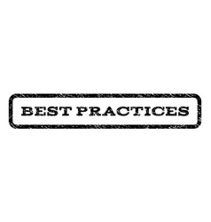 Best practices watermark stamp vector