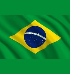 Brazil flag brazilian official symbol vector