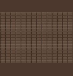 brown dark chocolate design background vector image