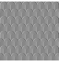 Fish scale silver seamless pattern vector